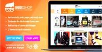 Geeky geekshop site product cool