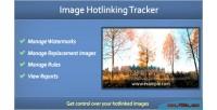 Hotlinking image tracker