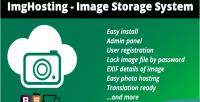 Image imghosting storage system