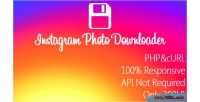 Image instagram downloader