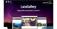 Image laragallery gallery script