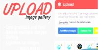 Image upload gallery