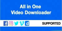 In all downloader video one