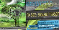Javascript php shoutcast v2.0 icecast and