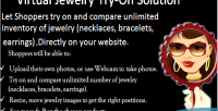 Jewelry virtual solution on try
