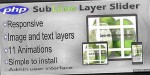 Layer sublime slider plugin php responsive