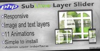 Layer sublime slider plugin php responsive