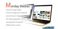 Management mondaymedias files cms & for integration