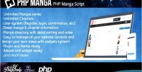 Manga php manga solution website reader