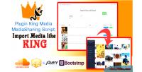 Media king plugin importer soundcloud