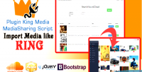 Media king plugin importer soundcloud
