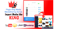 Media king plugin importer youtube