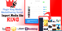 Media king plugin importer youtube