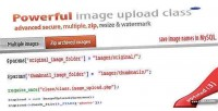 Multiple secure zip manipulation upload image
