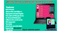 Music bikenge sharing network