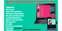 Music bikenge sharing network
