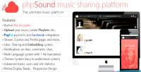 Music phpsound sharing platform