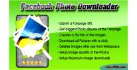 Photo facebook downloader