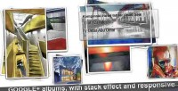 Photo albums php class effect stack with photo