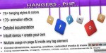 Php hangers hang anywhere anything