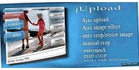 Jupload php ajax upload images manage and