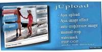 Jupload php ajax upload images manage and