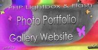 Jyh php lightbox flash v2 gallery portfolio