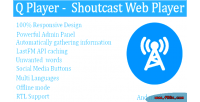Player q player web shoutcast