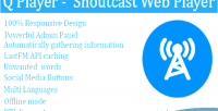 Player q player web shoutcast