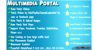 Portal media script themes responsive with
