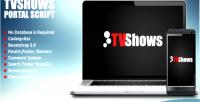 Portal tvshows script