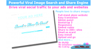 Powerful viral image search engine share and