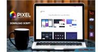 Premium pixel download script