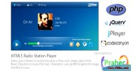 Radio html5 station player
