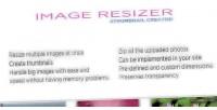 Resizer image creator thumbnail and