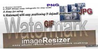 Resizer image maker watermark and