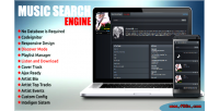 Search music engine
