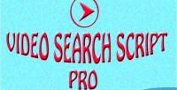Search video script pro