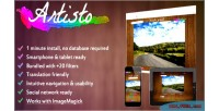 Turn artisto art into photos