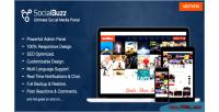 Ultimate socialbuzz portal media social