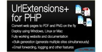 Urlextensions plus website converter png pdf for