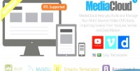 Video mediacloud aggregator cms