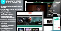 Video phpclips sharing platform