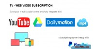 Video tv subscription