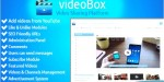 Video videobox sharing platform