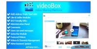 Video videobox sharing platform