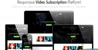Video videoplay subscription platform