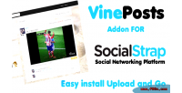 Video vine posts socialstrap for addon