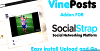 Video vine posts socialstrap for addon