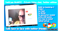 Videocall webrtc twitter edition